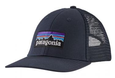 Patagonia P-6 Logo LoPro Trucker Hat Azul