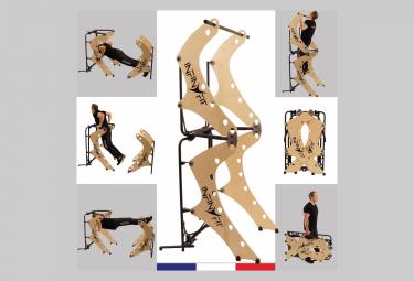 Image of Infinyfit 130 3 la seule chaise romaine pliable appareil de musculation complet ideal pour la maison plus de 150 exercices mieux qu une cage de