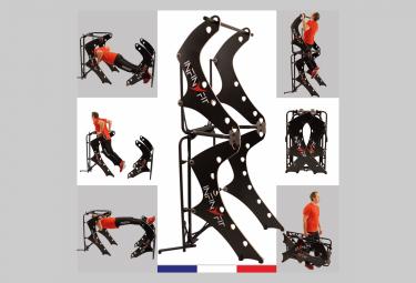 Image of Infinyfit 130 3 noir la seule chaise romaine pliable appareil de musculation complet ideal pour la maison plus de 150 exercices mieux qu une cage
