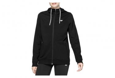 4F Women's Sweatshirt H4L20-BLD005-20S Femme sweat-shirts Noir