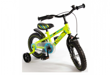 Image of Velo enfant volare electric green garcon 12 po assemble a 95