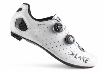 Lake CX332 Road Shoes White / Black