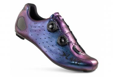 Chaussures de Route Lake CX332-X Chameleon Bleu / Noir Version Large