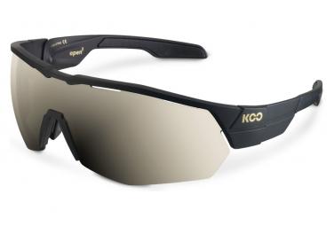Koo Open Cube Gafas Negro   Oro