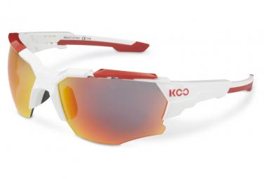 Paire de Lunettes KOO Orion Rouge Blanc - Rouge