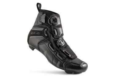 Chaussures Route Lake CX145-X Noir Version Large