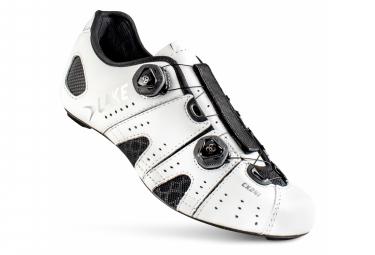 Chaussures Route Lake CX241-X Blanc/Noir Version Large