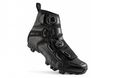 Chaussures VTT Randonée Lake MX145-X Noir Version Large