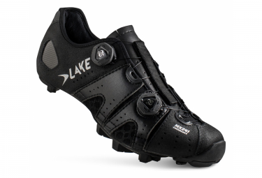 Zapatillas Lake MX241 MTB Negras / Plateadas
