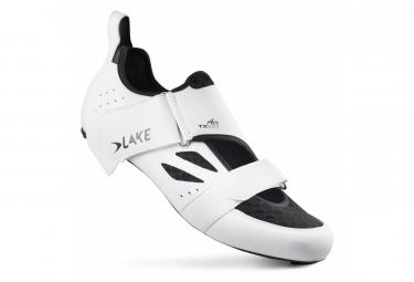Chaussures Triathlon Lake TX223-X AIR Blanc/Noir Version Large