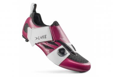Lake TX322 AIR Triathlon Shoes Violet Navy / White