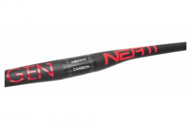 Cintre Carbone Neatt Oxygen 740 mm 31.8 mm Noir Rouge
