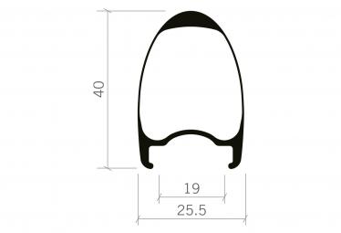 Paire de Roues Vision SC 40 Disc Tubeless | 12x100 - 12x142mm | Centerlock