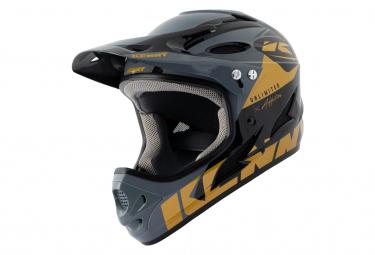 Int gral Helmet Kenny Down Hill Graphic Black / Gold