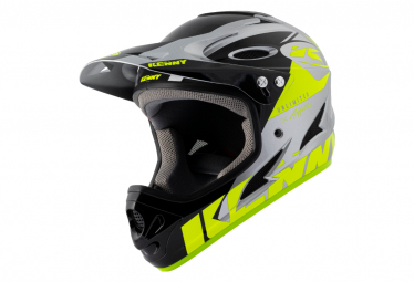 Full Face Helmet Kenny Down Hill Graphic Neon Yellow / Silver