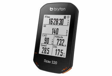 Compteur GPS Bryton Rider 320T + Ceinture Cardio/Capteur Cadence