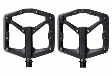 Pair of Crankbrothers Stamp 3 Black Magnesium Pedals