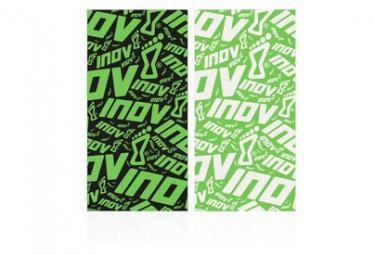 Pack de 2 Tour de cou Inov-8 Wrag Noir / Vert Unisex