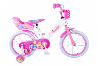 Image of Velo enfant princesses disney fille 14 po rose