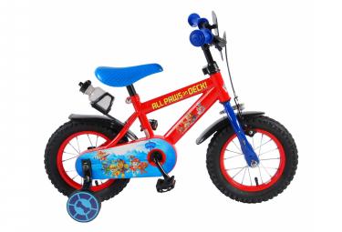 Vélo enfant Paw Patrol - garçon - 12 po - rouge/bleu