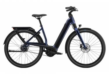 Cannondale Mavaro Neo 4 Elektrisches Citybike Shimano Nexus 8S Gürtel 625 Wh 700 mm Mitternachtsblau 2021