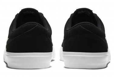 Chaussures Nike SB Charge Suede Noir Blanc