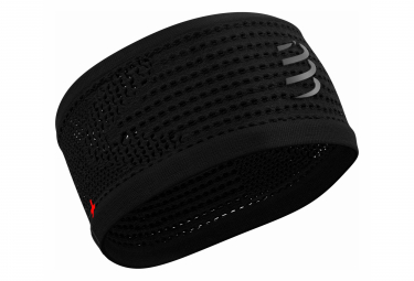 Bandeau Compressport Headband On/Off Flash Noir Unisex