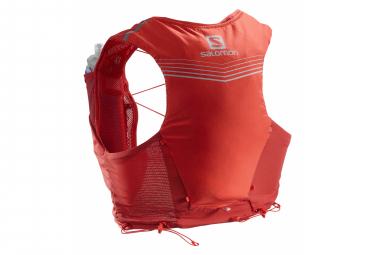 Salomon Adv Skin 5 Set Hydration Pack Rojo Unisex Xs