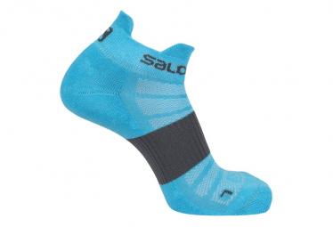 Salomon Sense 2 Pares Calcetines Azul Unisex 39 41