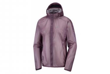 Salomon Lightning Race WP Women's Waterproof Jacket Purple