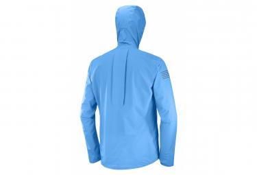 Veste Imperméable Salomon Bonatti Pro WP Bleu