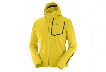 Chaqueta impermeable Salomon Bonatti WP amarilla