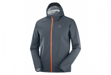 Veste Imperméable Salomon Bonatti WP Gris