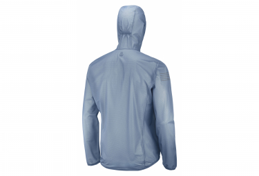 Veste Imperméable Salomon Bonatti Race WP Bleu