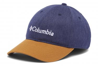 Casquette Columbia Lodge Adjustable Bleu Marron