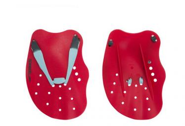 Speedo Tech swimming pads Red Blue