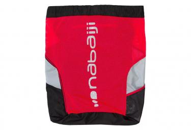 Pantalones cortos de ciclismo de carretera nabaiji bibless rc100 rojo   negro