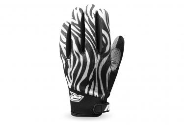 Racer Gloves Gp Style Guantes De Bicicleta Negro   Blanco Xl