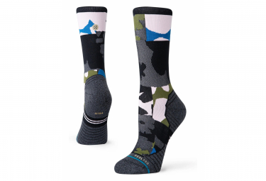 Stance Caught Crew Women's Socks Gray / Pink