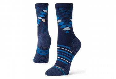 Pair of Women's Stance Slightering Crew Socks Blue