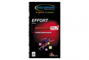 Image of La boisson effort etui sticks orange 6x30g