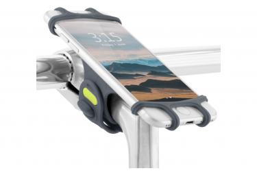 Image of Bike tie pro blue support pour telephone ecran 4 a 6 pouces fixation guidon et tige de velo bleu