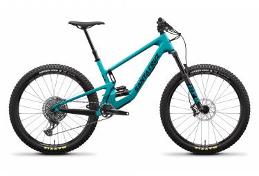 Santa Cruz 5010 C Carbon 27,5 '' Vollfederrad | Sram GX Eagle 12V | Locker blau und schwarz 2021