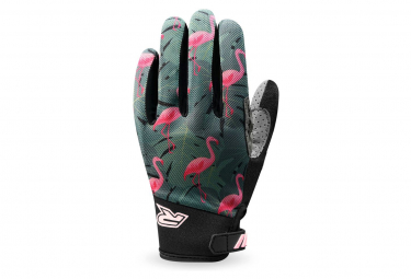 Racer Gloves Gp Style Guantes De Bicicleta Khaki   Pink Xxl