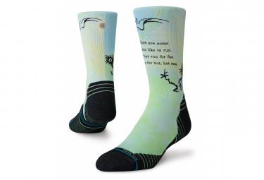 Pair of Stance Some Who Like Crew Socks Green