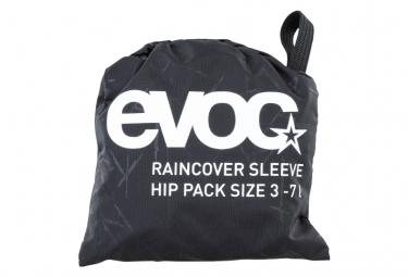 Regenschutz Evoc Hip Pack 3-7 L Schwarz
