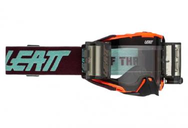 Leatt Velocity 6 5 Rolloff Mascarilla Naranja Fluo   Pantalla Transparente 83