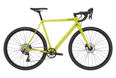 Vélo de Cyclocross Cannondale SuperX 2 Shimano GRX 11V 700 mm Jaune Highlighter