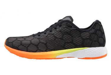 Chaussures de Running Mizuno Wave Aero 18 Noir / Orange