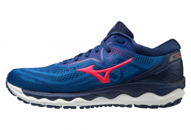Zapatillas Mizuno Wave Sky 4 para Hombre Azul / Rosa